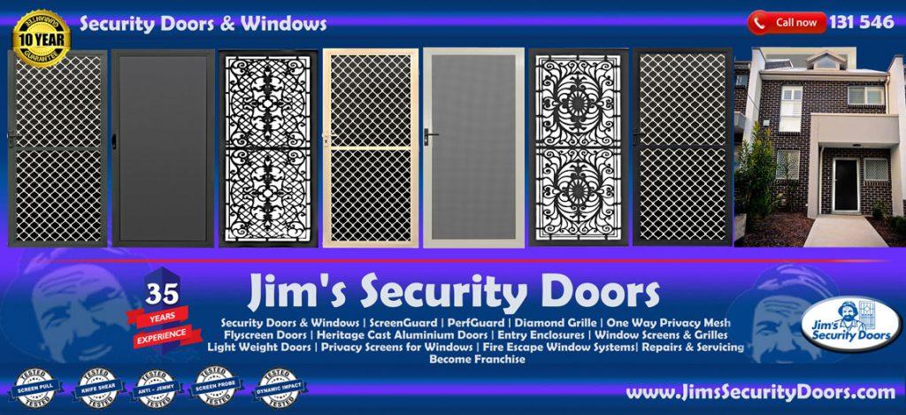 Jims Security Doors Melbourne Vic Australia